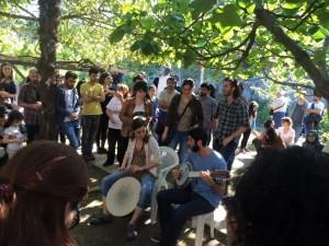 Kamp Armen'de BÜFK müzisyenleri