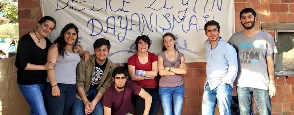 Yırca'da BÜFK müzisyenleri